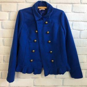 Jackets & Blazers - Peplum Peacoat